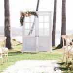sfondo matrimonio porta cerimonia