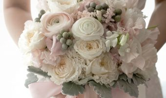 bouquet bondu stylemepretty