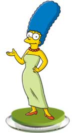 marge simpson acconciatura