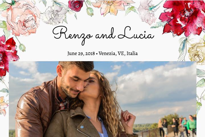 Sito Matrimonio o Wedding Website • Consigli per Spose Raffinate