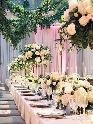 tavolo imperiale ricco matrimoni con laccento Roberta Patane
