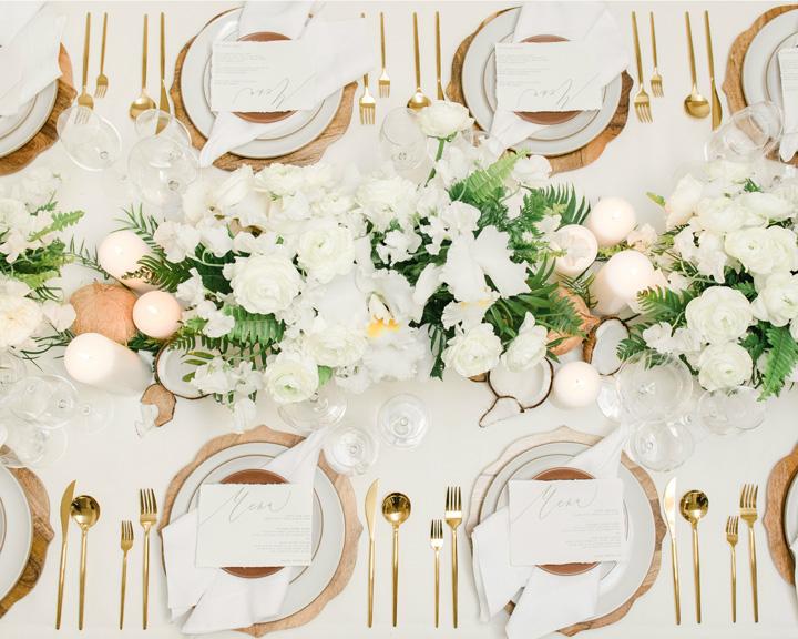 tavolo imperiale matrimoni con laccento Roberta Patane