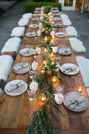 tavolo imperiale country matrimoni con laccento Roberta Patane