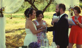 Handfasting: il rito simbolico dei 4 elementi