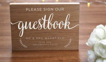Guest book: il libro degli ospiti