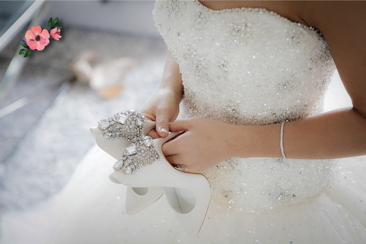 f397888009ed Le scarpe da sposa  come scegliere quelle giuste per te