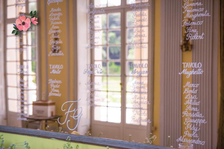 Tableau de Marriage a Specchio_nomi-tavoli_Roberta-Patane