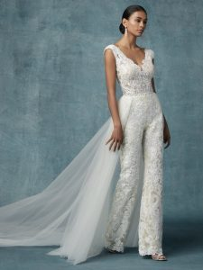 Tendenze Matrimonio 2020 | Jump Suite Sposa