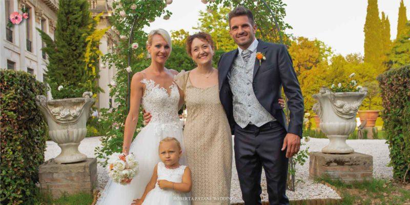 Sposi con la wedding planner