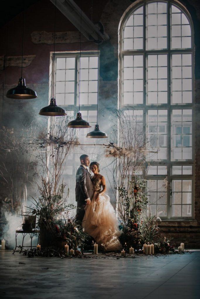 Matrimoni in stile urban o industrial