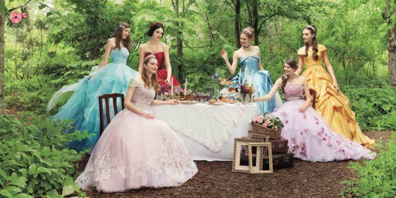 Principesse Disney nel bosco