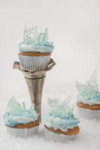 Matrimonio a tema Disney, cupcake ispirati a Frozen