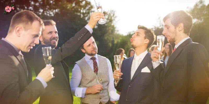 Invitati ubriachi ad un ricevimento di matrimonio