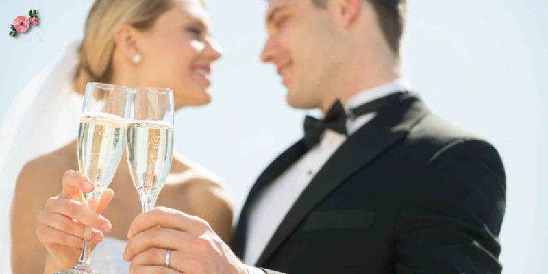 cose da non fare al matrimonio: brindisi con tintinnio